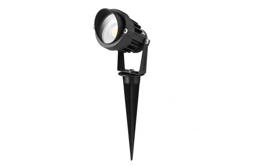 5 Watt Landscape LED Spotlight w/ Mounting Spike - 25 Watt Equivalent - 250 Lumens - GLUX-x5W-S90