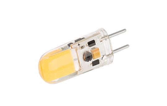 GY6.35 LED Bulb - 40 Watt Equivalent - 12V AC/DC - Bi-Pin LED Bulb - 275 Lumens - GY6.35-WWCOB-DAC-HH