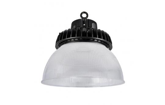100W UFO LED High Bay Light w/ Reflector - 13,000 Lumens - 250W Metal Halide Equivalent - 5000K - HBUD-50K100W-x