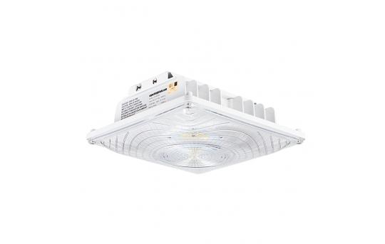 55W LED Canopy Light - 6,700 Lumens - Surface Mount - 175W Metal Halide Equivalent - 5000K/4000K/3000K - LC9-x55