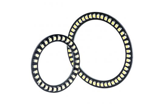 LED Halo Headlight Accent Lights - Black Circuit Board - AEx-x-BK
