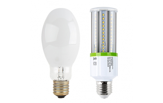 15W LED Corn Bulb - 1,650 Lumens - 100W Incandescent Equivalent - E26/E27 Medium Screw Base - 4000K/3000K - CL-x15