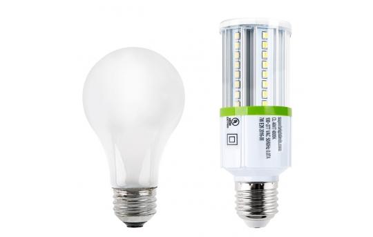 7W LED Corn Bulb - 700 Lumens - 60W Incandescent Equivalent - E26/E27 Medium Screw Base - 4000K/3000K - CL-x7