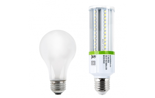 9W LED Corn Bulb - 1,050 Lumens - 75W Incandescent Equivalent - E26/E27 Medium Screw Base - 4000K/3000K - CL-x9