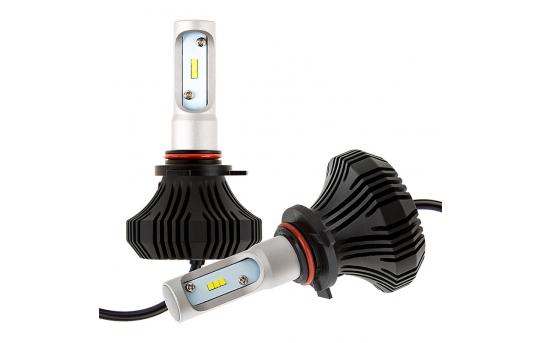 9012 LED Fanless Headlight/Fog Light Conversion Kit with Internal Drivers - 4,000 Lumens/Set - 9012-HLV4
