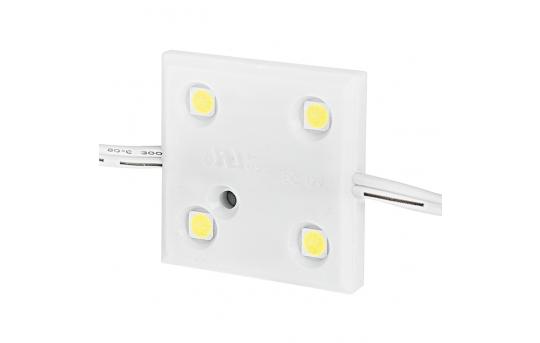 Single Color LED Module - Square Constant Current Sign Module w/ 4 SMD LEDs - 75 Lumens/Module - LSMCC-x4X3-LP