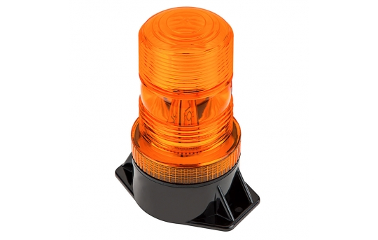 """5-1/4"""" Amber LED Strobe Light Beacon with 10 LEDs - STB-A35"""