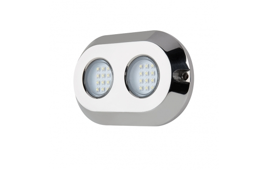 LED Underwater Boat Lights and Dock Lights - Double Lens - 120W - UBL-x120