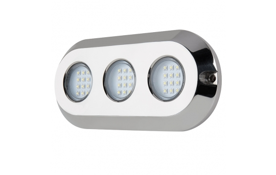 LED Underwater Boat Lights and Dock Lights - Triple Array - 180W - UBL-x180