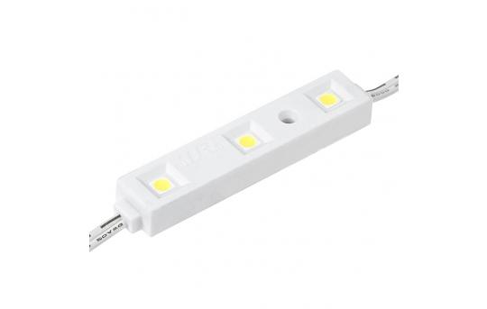 Single Color LED Module - Linear Sign Module w/ 3 SMD LEDs - 57 Lumens/Module - LSM-x3X3