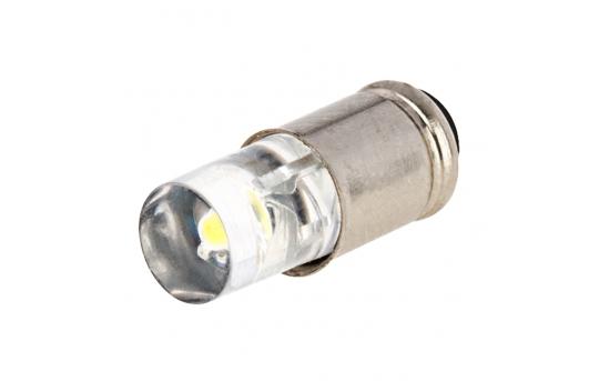 S4S/8 LED Boat and RV Light Bulb - 1 LED Midget Groove S4S/8 Retrofit - 4 Lumens - MG-x-WV-RVB