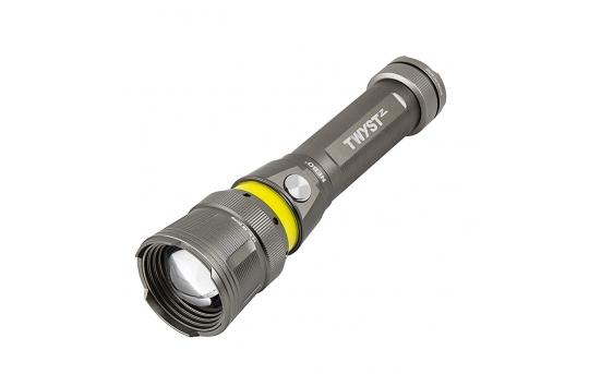 NEBO TWYST Z - LED Flashlight w/ Built-In COB Work Light and Lantern - 200 Lumens - #6372