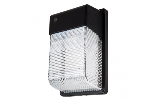 28W LED Mini Wall Pack with Photocell - 2,100 Lumens - 70W Metal Halide Equivalent - 5000K/4000K - MWP-xK28-S1
