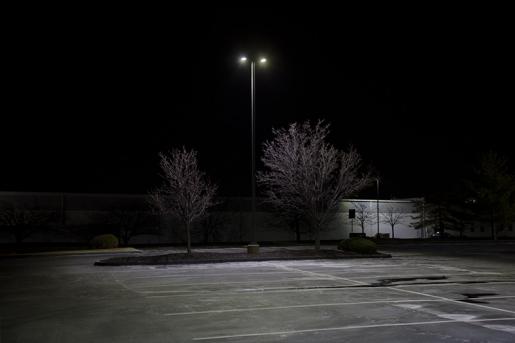 LED Parking Lot Light - 100W (250W MH Equivalent) LED Shoebox Area Light - 3000K/4000K/5000K - 13,000 Lumens - PLLD-x100-KM