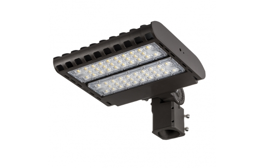 LED Parking Lot Light - 100W (250W HID Equivalent) 200-480V Dimmable LED Shoebox Area Light - 3000K/4000K/5000K - 12,000 Lumens - PLLD-x100-2048