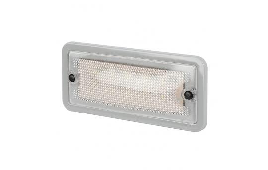"6"" Rectangular LED Dome Light Fixture - 30 Watt Equivalent - 275 Lumens - RDL-W10"