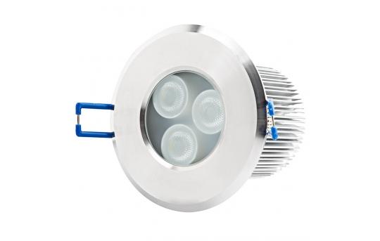 Waterproof Recessed LED Downlight - 40 Watt Equivalent - 400 Lumens - WRLFA-W6W-60