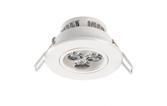 LED Recessed Light Fixture - Aimable - 40 Watt Equivalent - 3.5