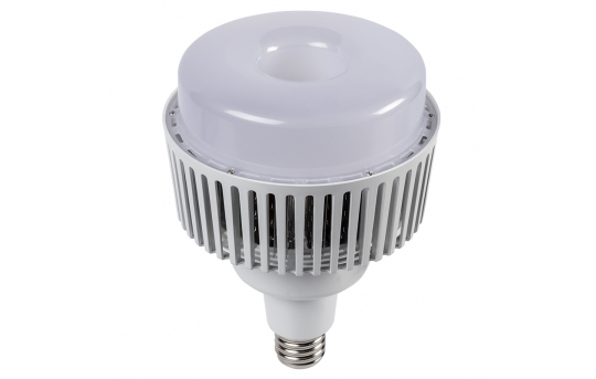 80W LED Retrofit Bulb for HID Lamps - 9600 Lumens - 400W Equivalent Metal Halide - E39 Mogul Base - Ballast Bypass - 5000K/4000K - RLH-x80P-E39