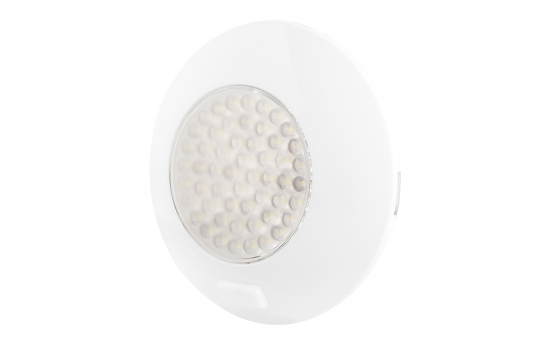 "5.5"" Round LED Dome Light and Door Light Fixture w/ Switch - 25 Watt Equivalent - 220 Lumens - TDLS-W54"