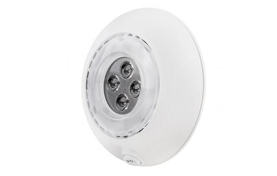 "5.5"" Round LED Dome Light Fixture - 25 Watt Equivalent - DLWS-BWW10"