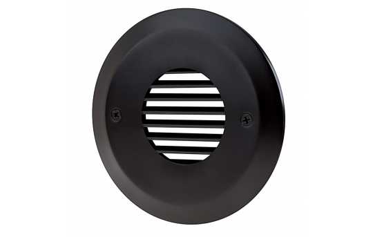 Face Plate for Round LED Step Light - Open Window or Louvered - SLR-x
