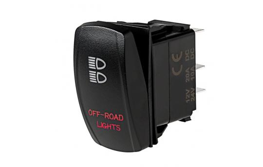 Weatherproof LED Rocker Switch - Off-Road Lights Switch - RS-1
