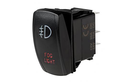 Weatherproof LED Rocker Switch - Fog Lights Switch - RS-15