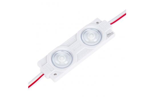Single Color LED Module - Linear Constant Current Sign Module w/ 2 SMD LEDs - SMCC-Wx2-12V