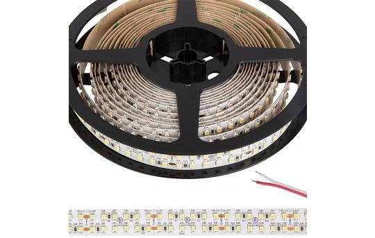 3528 Single-Color LED Strip Light - Dual Row LED Tape Light - 24V - IP20 - 570 Lumens/ft - STN-AxK80-B12A-20D5M-24V