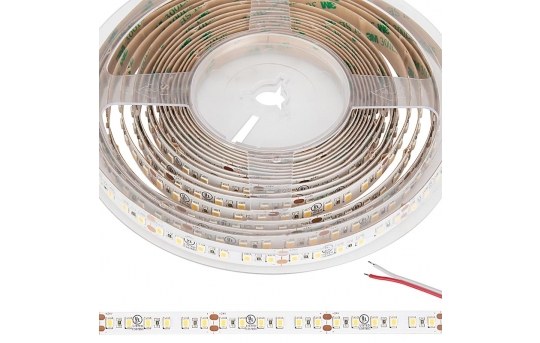 2835 Single-Color High-CRI LED Strip Light/Tape Light - 24V - IP20 - 335 lm/ft - STN-AxK90-C6A-10C5M-24V