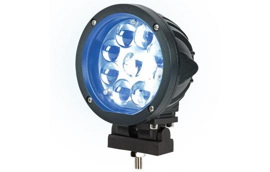 Forklift Blue Light - LED Safety Light w/ Spot Beam Pattern - SWL-B27-R9