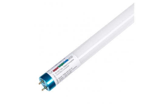 DLC Listed T8 LED Tube - 32W Equivalent - Ballast Bypass/Ballast Compatible F32T8 Type A/B - 2,070 Lumens - T8AB-xK18S-GF