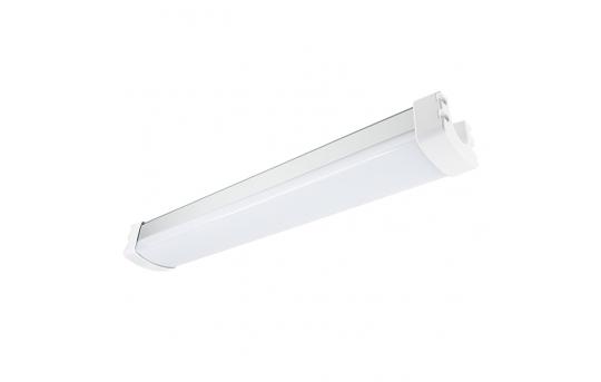 30W Vapor Tight LED Light Fixture - LED Tri-Proof Light - 2' Long - 3,400 Lumens - 5000K/4000K - TPLF-NW2-30-LB