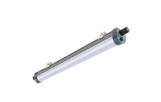 40W Linkable Linear LED Strip Light Fixture - Industrial LED Light - 4' Long - 4,100 Lumens - 4000K - TPTF-x4-40-MB1