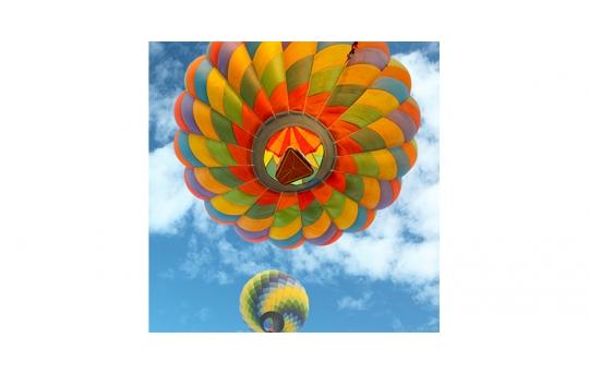 Skylens® Fluorescent Light Diffuser - Balloon 3 Decorative Light Cover - 2' x 2' - TRD-B3-22