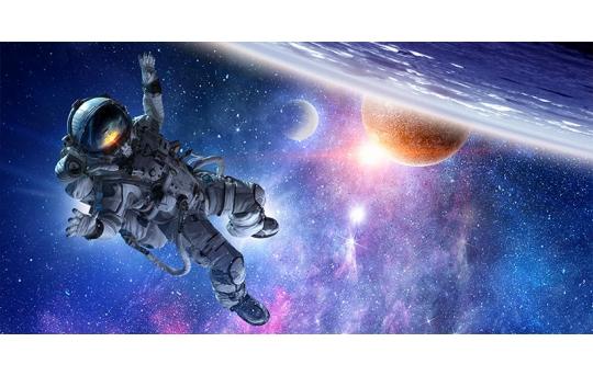 Skylens® Fluorescent Light Diffuser - Astronaut Decorative Light Cover - 2' x 4' - TRD-S1-24
