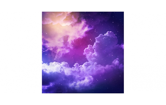 Skylens® Fluorescent Light Diffuser - Mystical Night Decorative Light Cover - 2' x 2' - TRD-S2-22