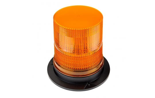 """6-3/4"""" Amber LED Strobe Light Beacon with 15 LEDs - STB-A57"""