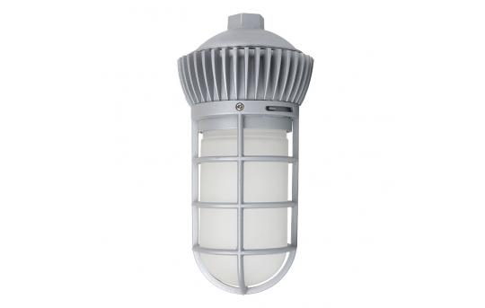 20W Vapor Tight LED Jelly Jar Light - 1,800 Lumens - Caged Pendant Mount Light - 5000K/4000K - VTPJ-x20