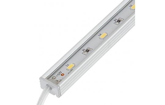 Waterproof Linear LED Light Bar Fixture w/ DC Barrel Connectors - 675 Lumens - WLFA2-xW15SMD