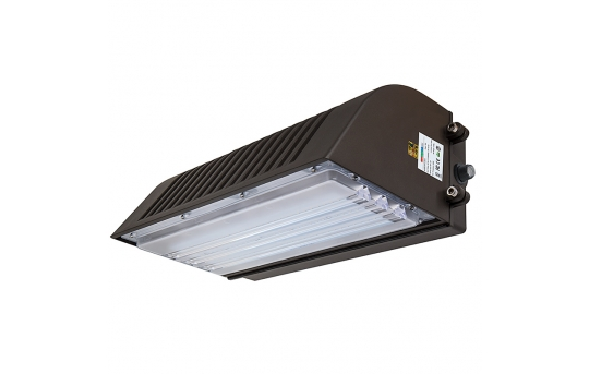 70W Full Cutoff LED Wall Pack with Photocell - 8,000 Lumens - 320W Metal Halide Equivalent - 5000K/4000K - WPFC-x70-Sx