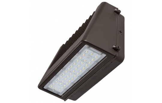 80W Full Cutoff LED Wall Pack - 9,600 Lumens - 400W Metal Halide Equivalent - 5000K/4000K - WPFCD-xK80P