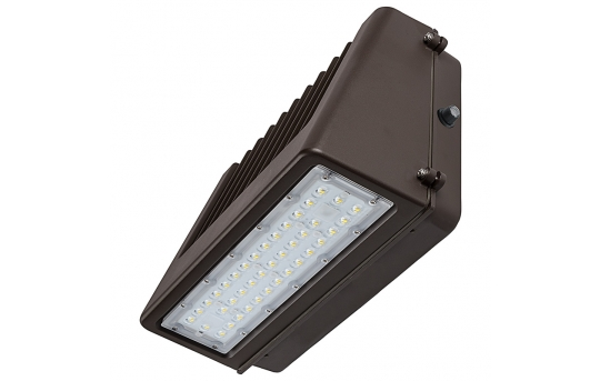 80W Full Cutoff LED Wall Pack with Photocell - 9,600 Lumens - 400W Metal Halide Equivalent - 5000K/4000K - WPFCD-xK80P-Sx