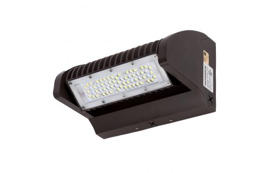 40W Rotatable LED Wall Pack - 4,800 Lumens - 175W Metal Halide Equivalent - 4000K - WPR-x40