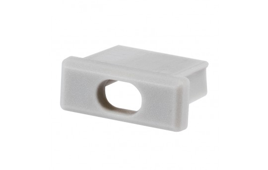 MICRO-ALU End Cap with Hole - 00024