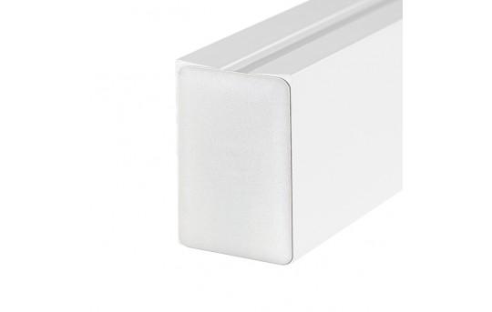 3D EX-ALU End Cap White - 0962