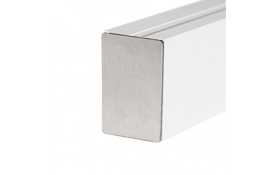 Klus 0963 - EX-ALU series Edge Lit Channel Stainless Steel End Cap  - 0963