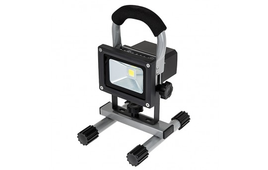 10W Portable Rechargeable LED Work Light - Dimmable - 7100K - 650 Lumens - FBD-CW120-10W