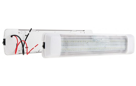 Rectangular LED Dome Light and Door Light Fixture - 25 Watt Equivalent - 250 Lumens - TDLS-W60